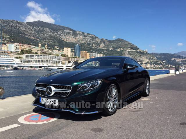 Rental Mercedes-Benz S 500 Coupe 4Matic 7G-TRONIC AMG in Bruges