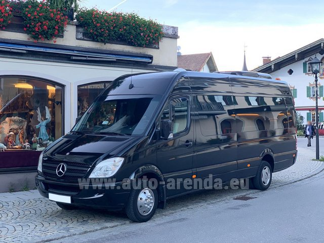 Rental Mercedes-Benz Sprinter 18 seats in Liege
