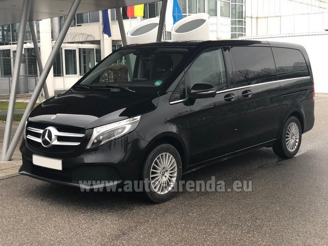 Rental Mercedes-Benz V-Class (Viano) V 300 d 4MATIC AMG equipment in Liege