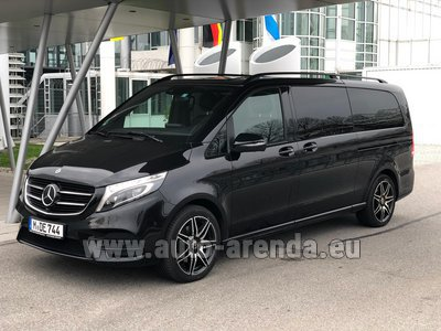 Mercedes V250 Extra Long (1+6 Pax) 4MATIC AMG equipment