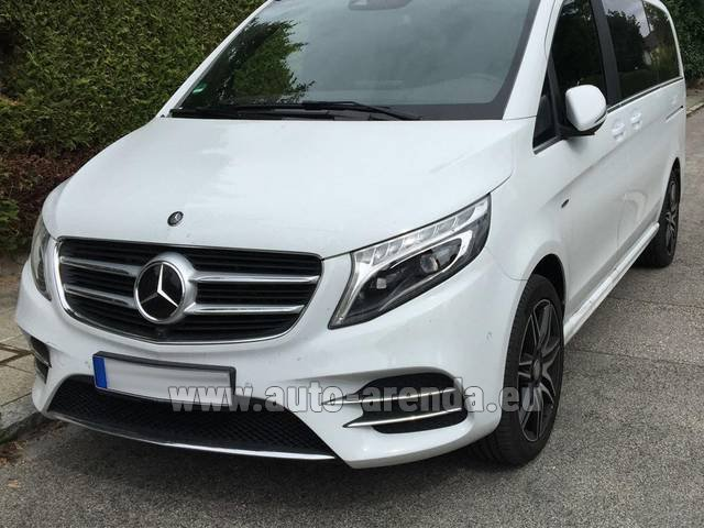 Rental Mercedes-Benz V-Class (Viano) V 250 D 4Matic AMG Equipment in Ghent