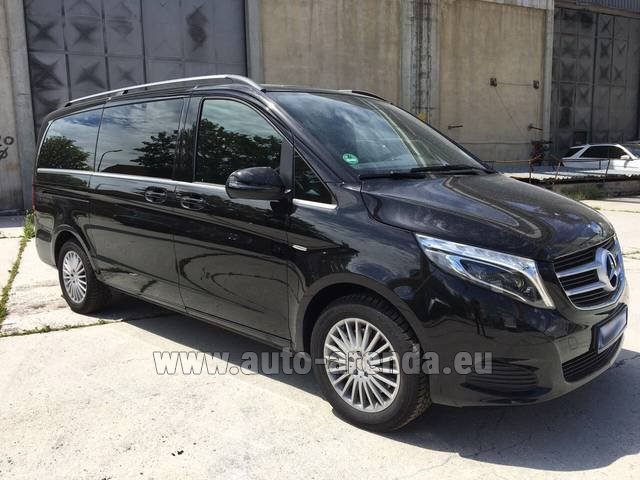 Rental Mercedes-Benz V-Class (Viano) V 250 Long 8 seats in Charleroi