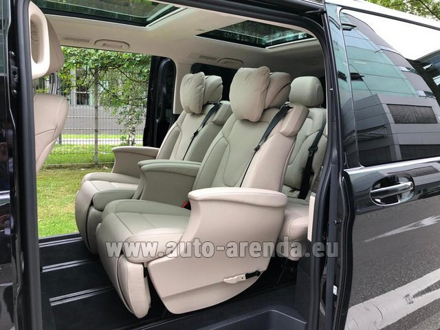 Прокат Мерседес-Бенц V300d 4MATIC EXCLUSIVE Edition Long LUXURY SEATS AMG Equipment в Льеже