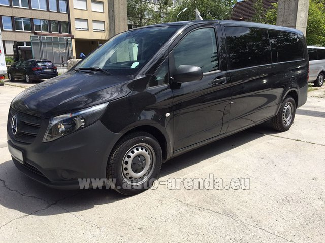 Rental Mercedes-Benz VITO Tourer 116 CDI (9 seats) in Ghent