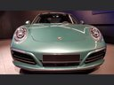 Rent-a-car Porsche 911 991 4S Racinggreen Individual Sport Chrono with its delivery to Brussels Airport, photo 4