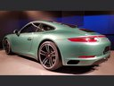 Rent-a-car Porsche 911 991 4S Racinggreen Individual Sport Chrono with its delivery to Brussels Airport, photo 3