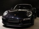 Прокат автомобиля Порше 911 991 Turbo S Ceramic LED Sport Chrono Пакет и доставка его в аэропорт Брюсселя, фото 1