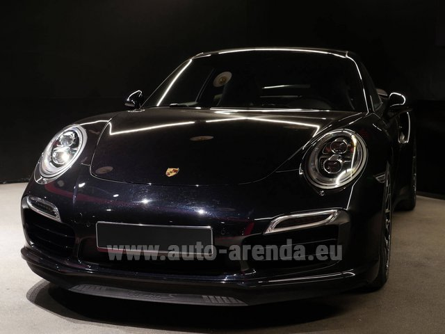 Прокат Порше 911 991 Turbo S Ceramic LED Sport Chrono Пакет в Генте