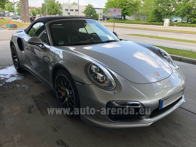 Rental Porsche 911 991 Turbo S in Antwerp