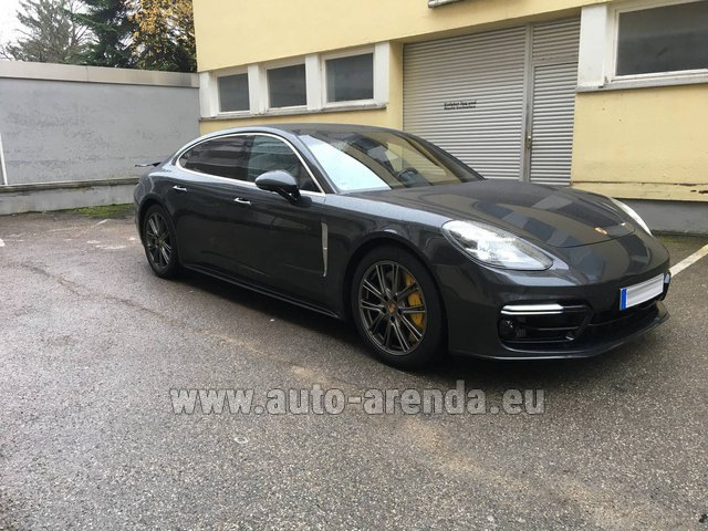 Rental Porsche Panamera Turbo Executive in Charleroi