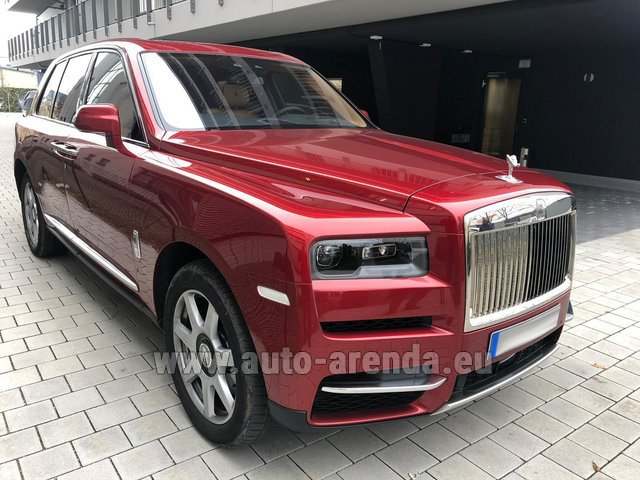Rental Rolls-Royce Cullinan in Brussels