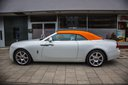 Rent-a-car Rolls-Royce Dawn White in Brussels, photo 1