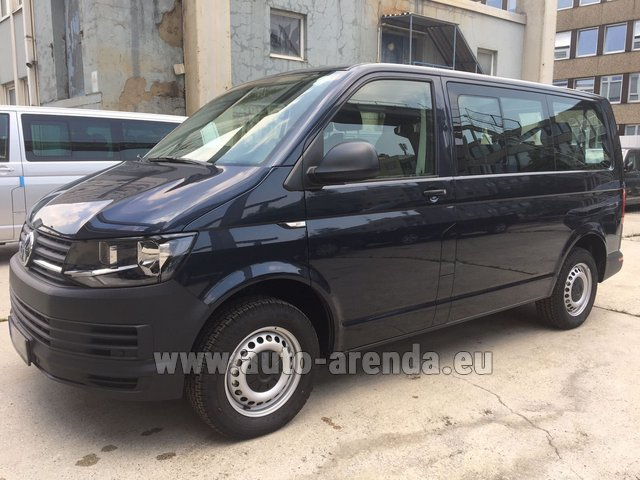 Rental Volkswagen Transporter T6 (9 seater) in Charleroi